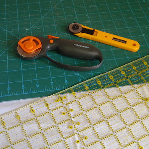 sewing ruler and cutter