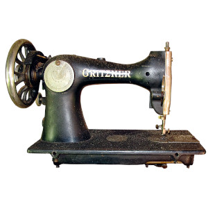 who made the first sewing machine featured