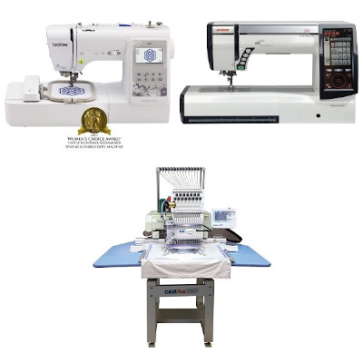 best commercial embroidery machine featured